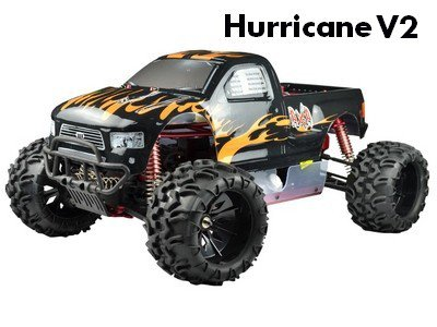 Машинка VRX Racing 1:5 Off-road Truck Hurricane V2 4WD, 30CC, RTR, 2,4G