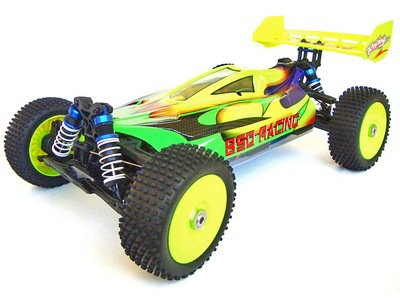 Машинка BSD Racing 1:8 Off-Road Buggy 4WD, EBL, RTR, 2.4G
